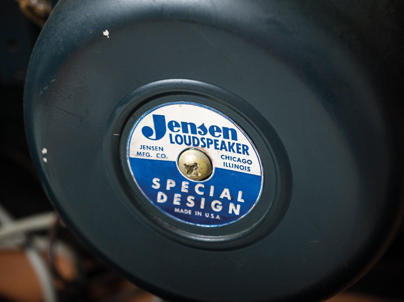 1961 Fender Pro Amp Jensen speakers