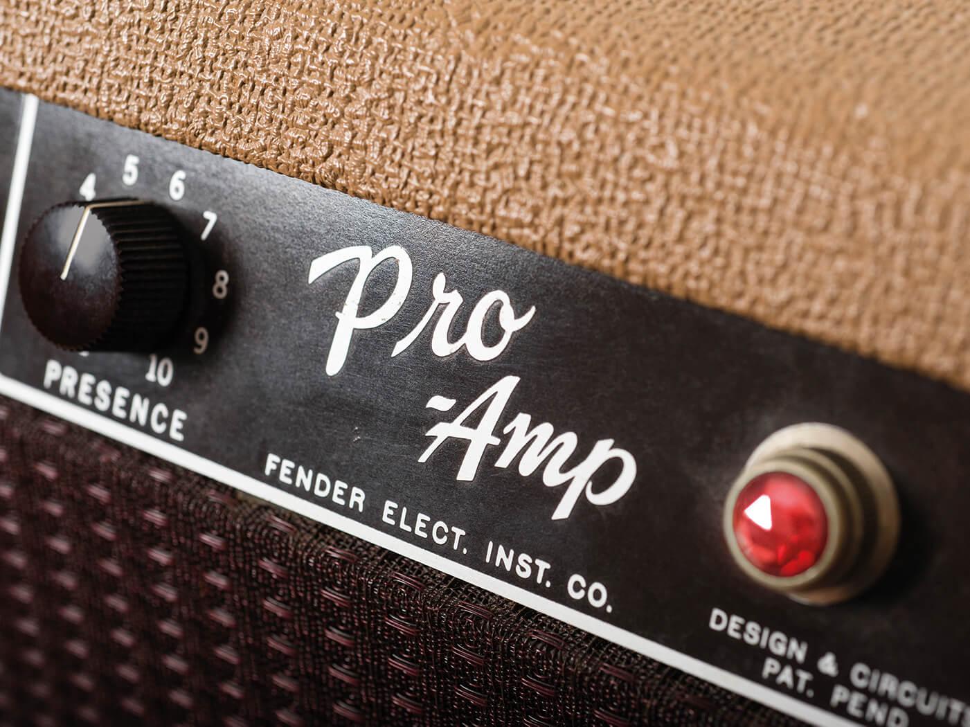 1961 Fender Pro Amp model name
