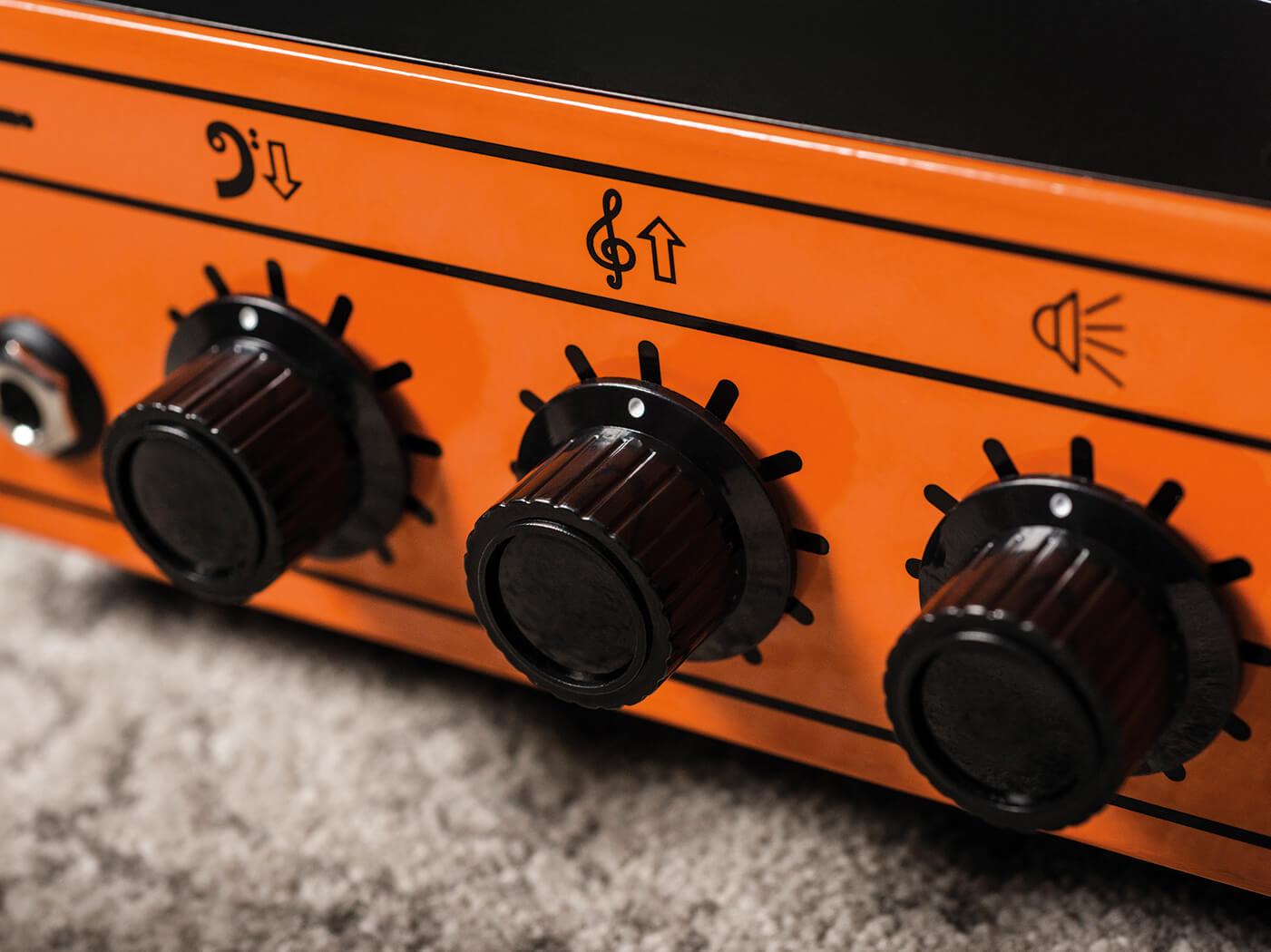 orange pedal baby 100