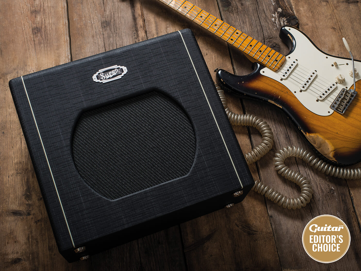 Review: Supro 1812R Blues King 12 - Guitar com | All Things Guitar