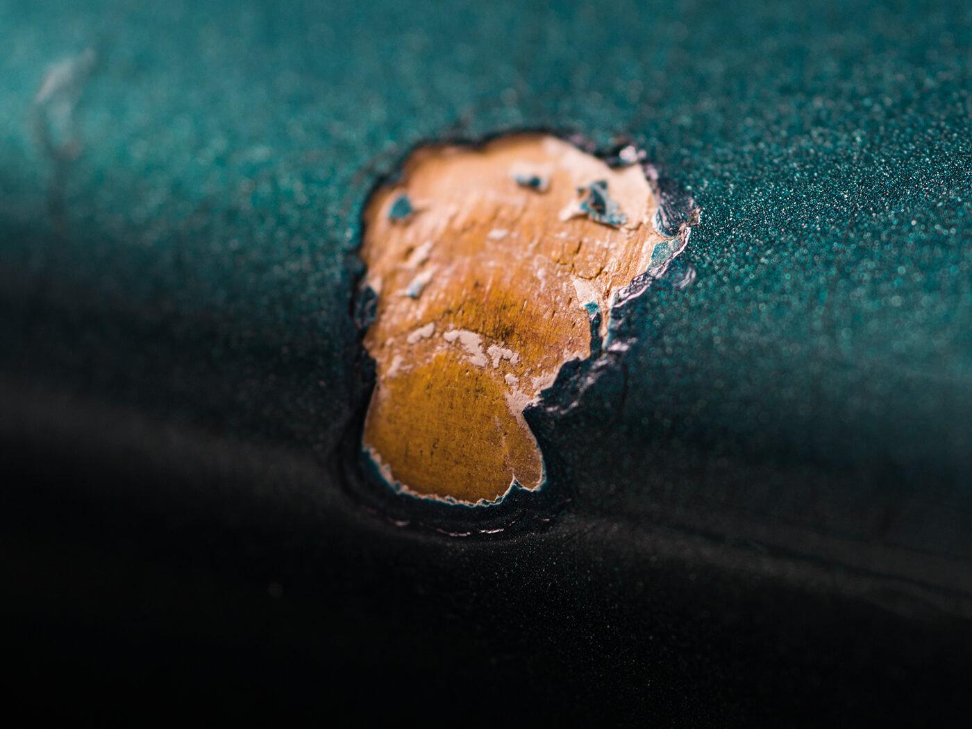 Fender 1966 Jazzmaster Ocean Turquoise chips