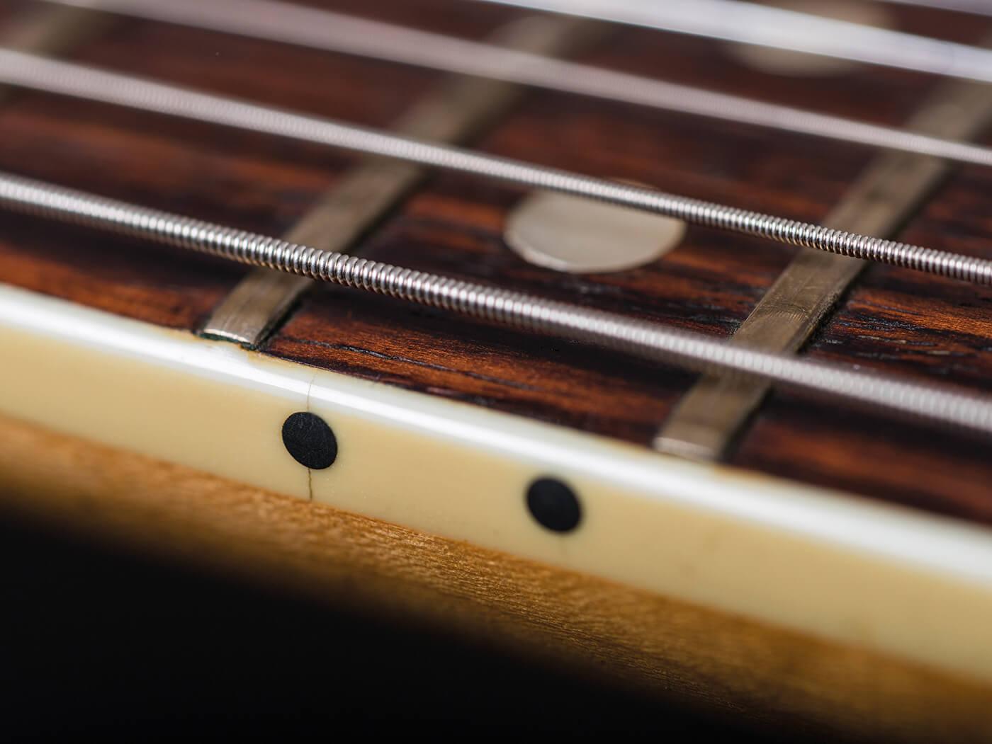 Fender 1966 Jazzmaster Ocean Turquoise fretwire