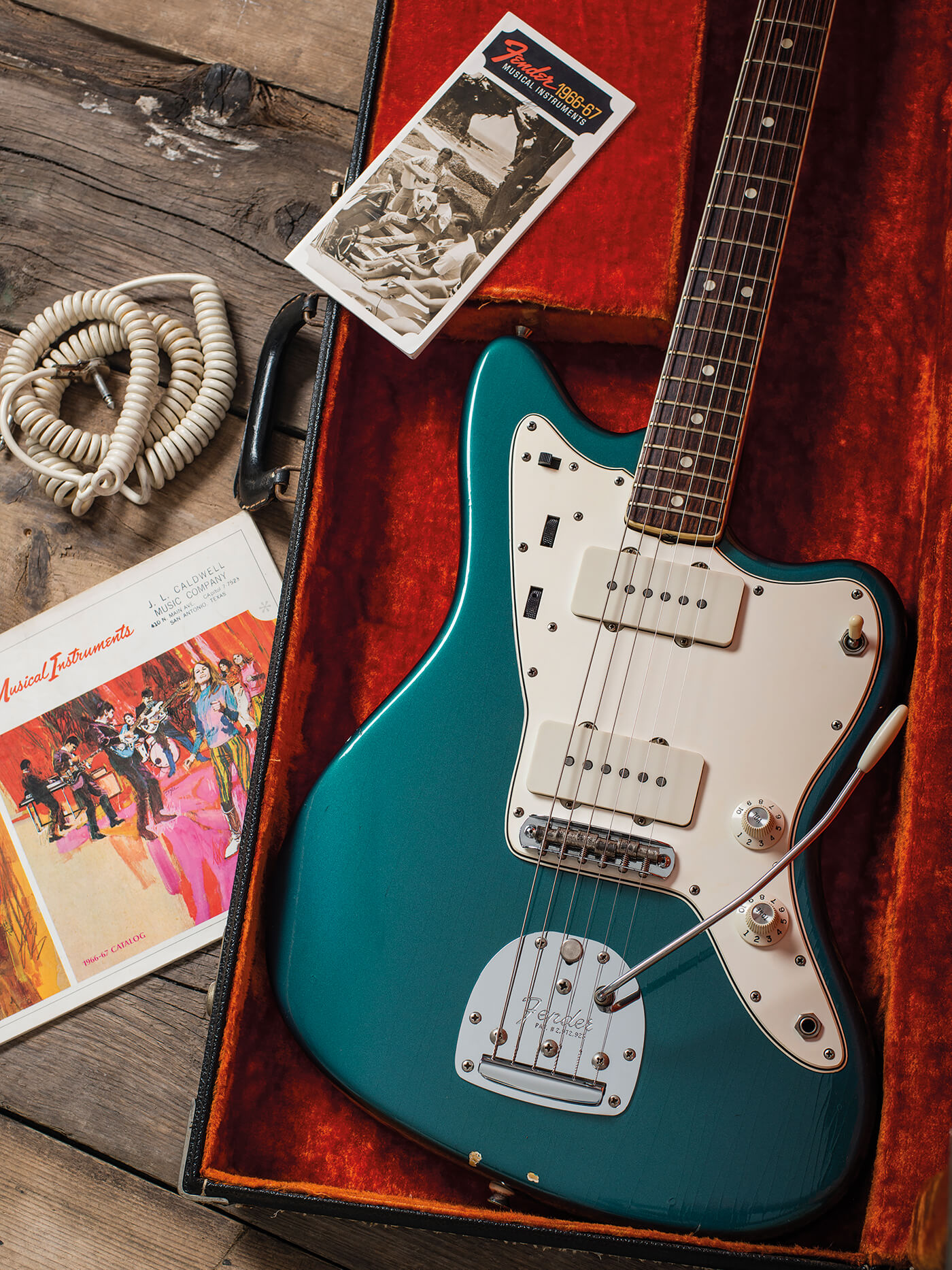 Fender 1966 Jazzmaster Ocean Turquoise lacquer