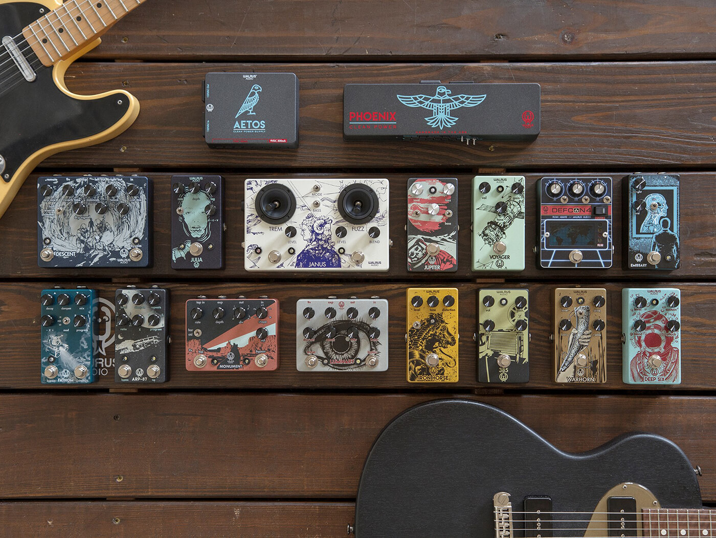 walrus audio effects pedals