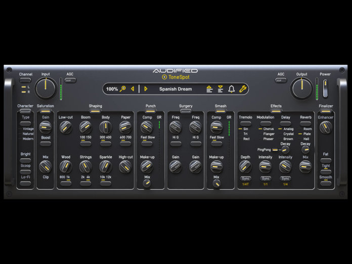 Audified ToneSpot Acoustic Pro Plug-in