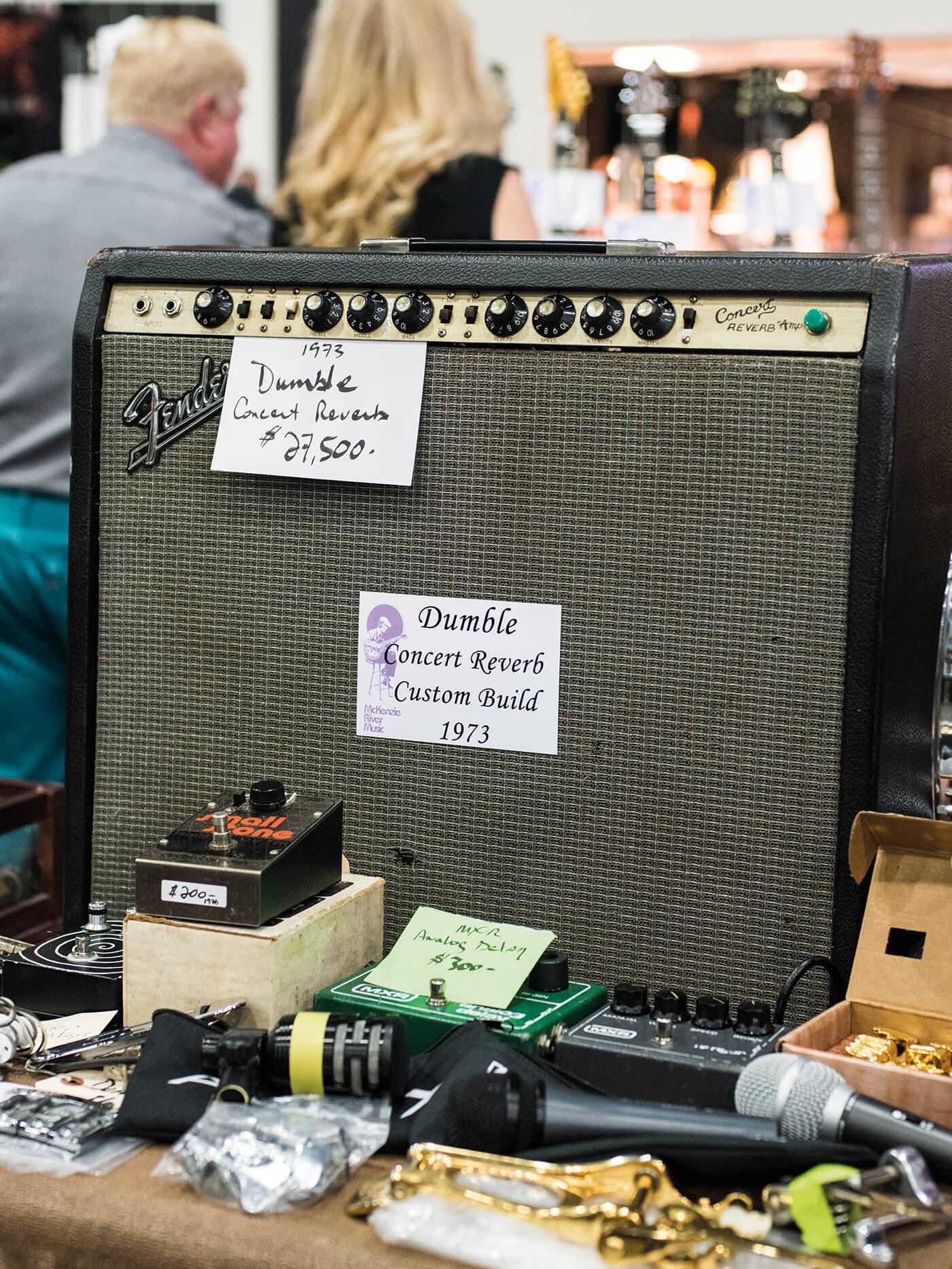 Costa Mesa Show Dumble Concert Reverb