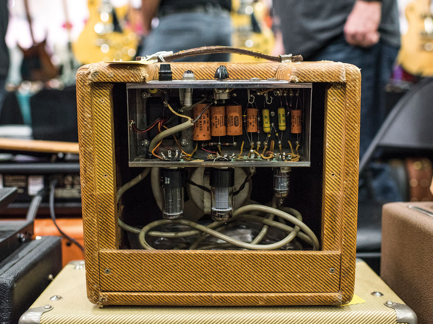Costa Mesa Show Original Amp Wiring