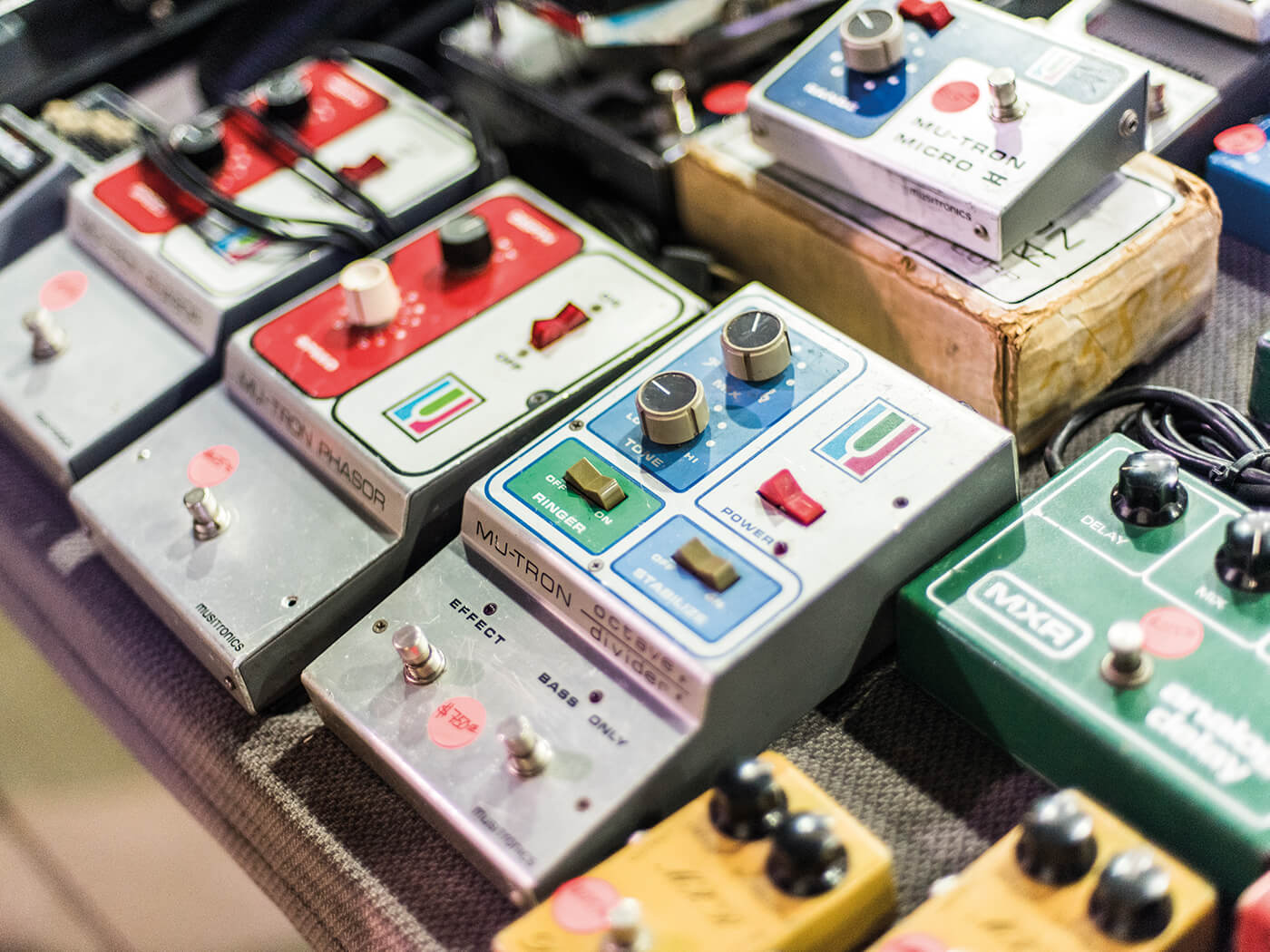 Costa Mesa Show Vintage effects