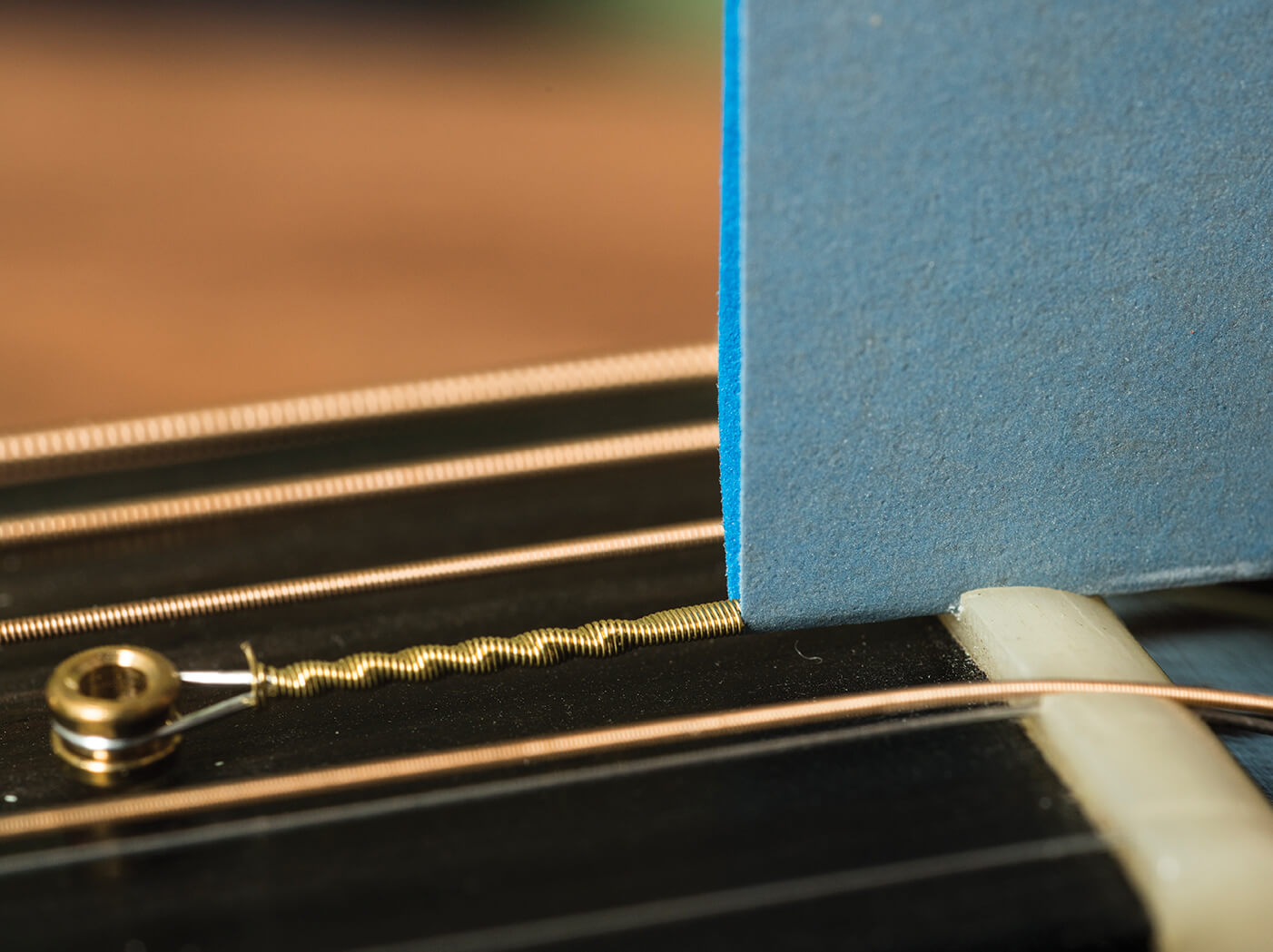 electric guitar nut sandpaper file