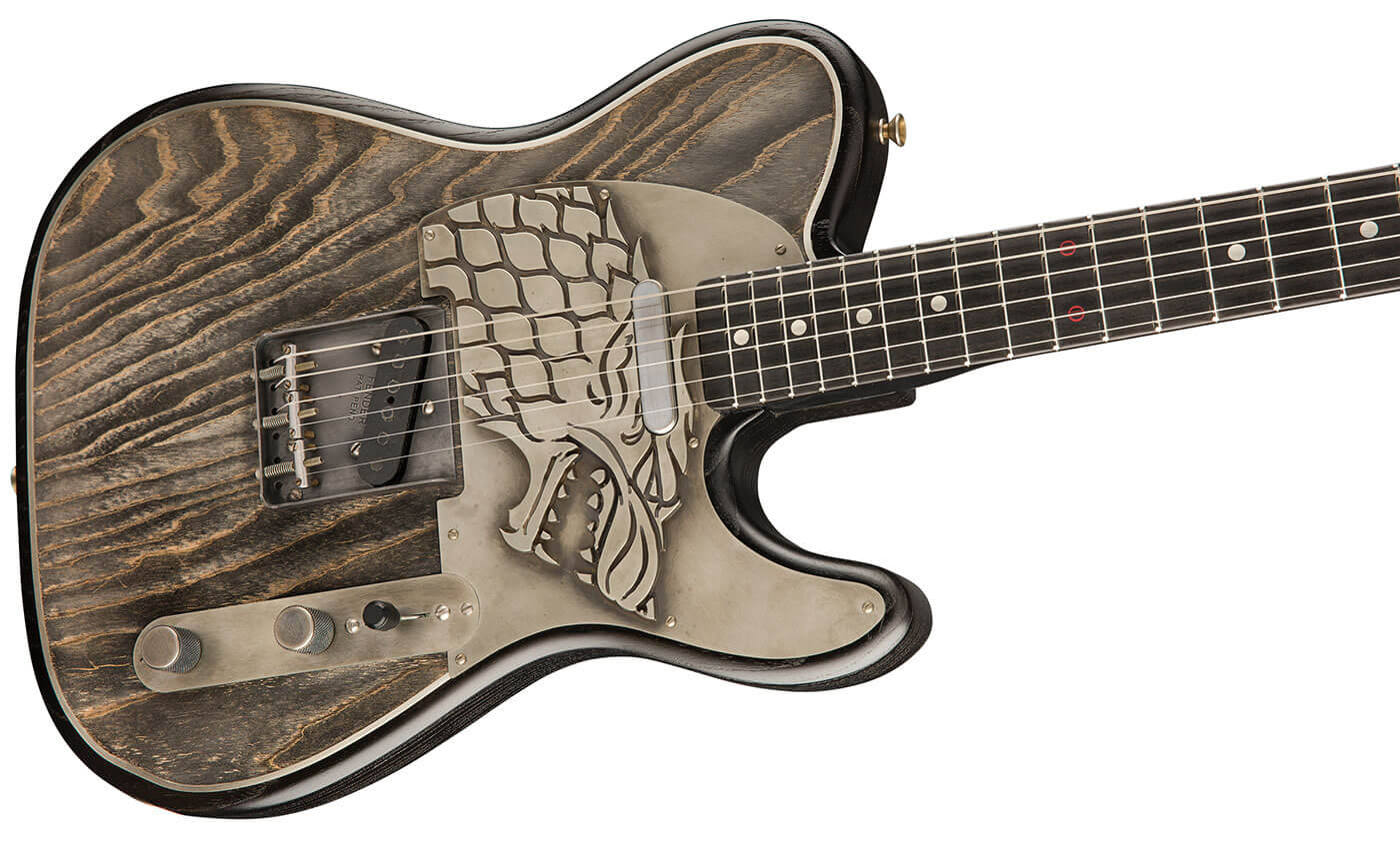 fender reveals custom shop game of thrones guitars all things guitar. Black Bedroom Furniture Sets. Home Design Ideas