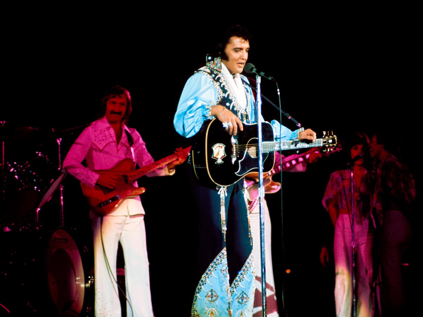 James Burton Elvis Presley