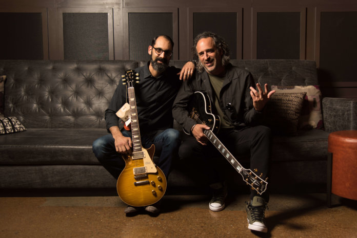 Gibson CMO Cesar Gueikian and CEO JC Curleigh