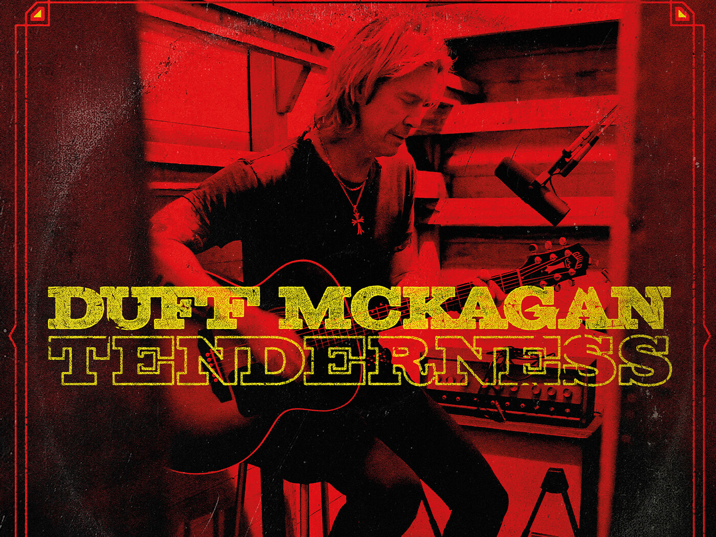 Interview Duff McKagan Tenderness album cover