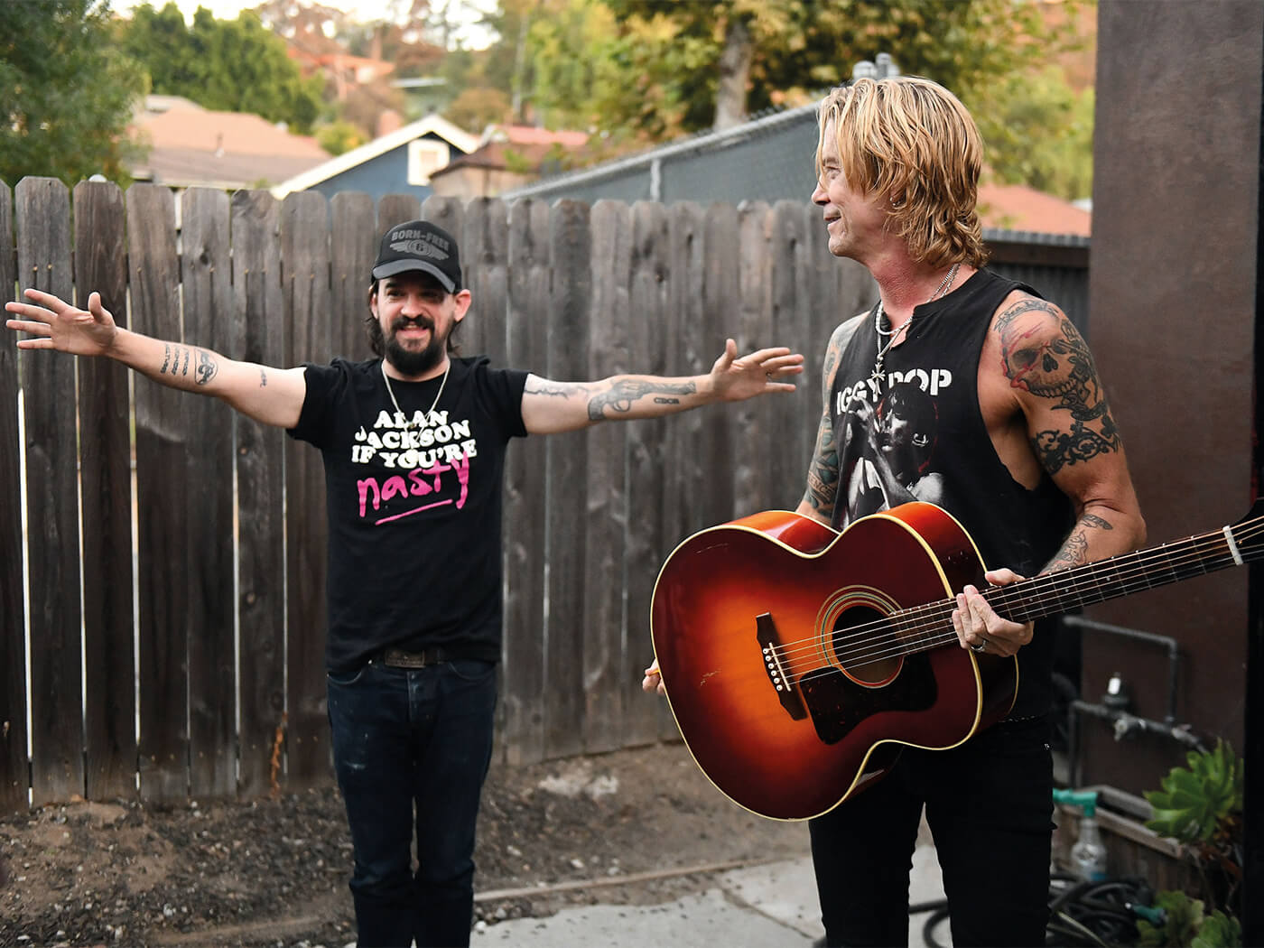 Interview Duff McKagan Shooter Jennings
