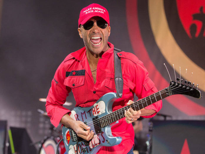 Tom Morello Mountain View performance