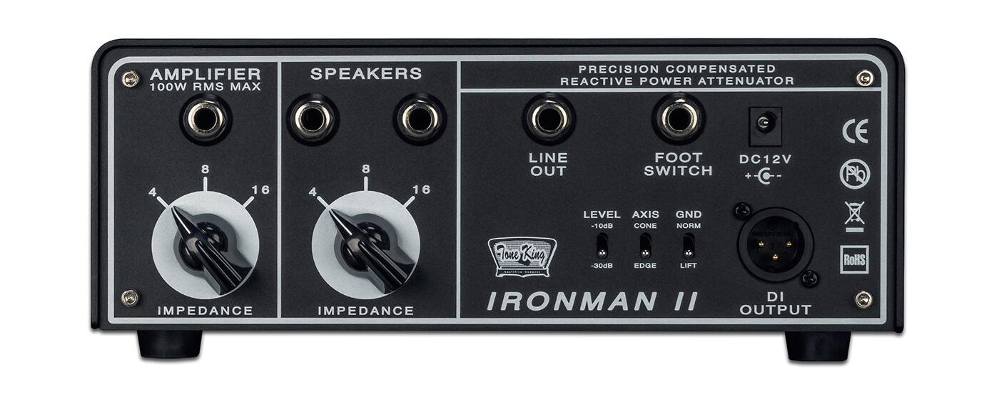 Tone King Ironman II back