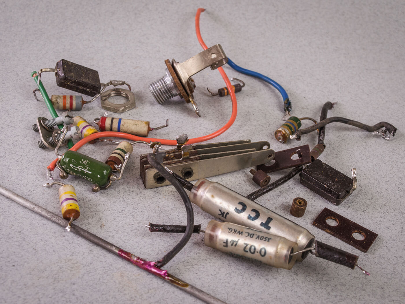 DIY Workshop Bell & Howell Conversion Part Three removed parts