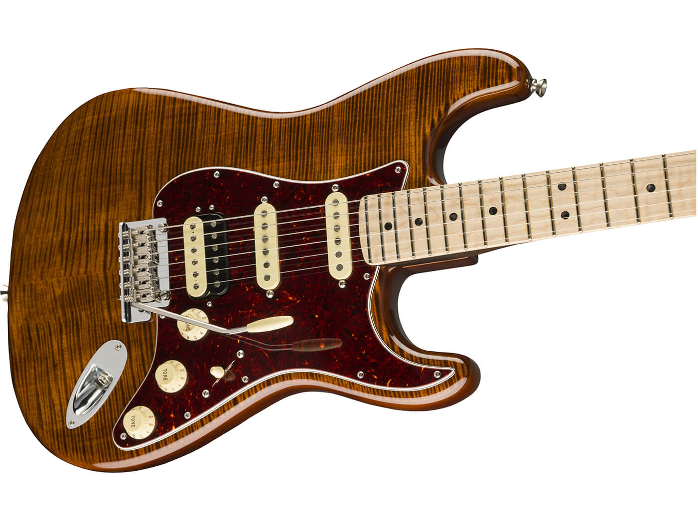 Fender flame maple top stratocaster