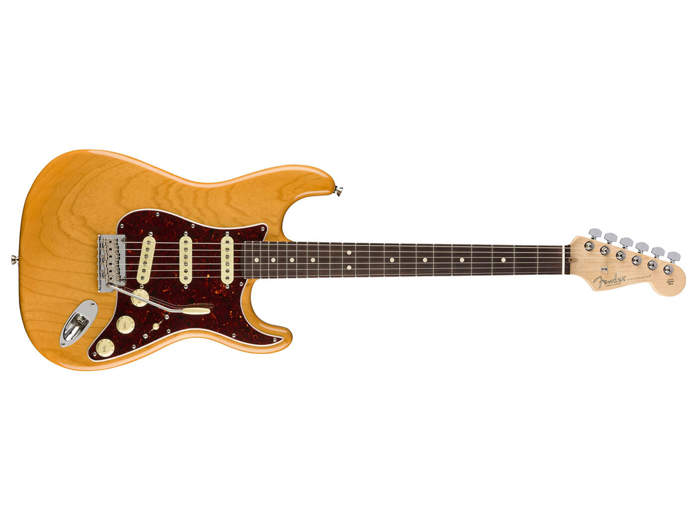 Fender Limited-Edition American Professional Strat sideways