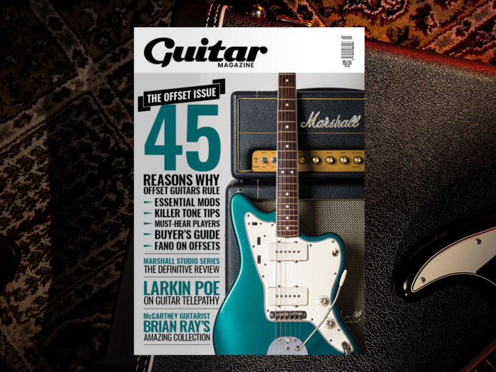 guitar magazine may issue offsets