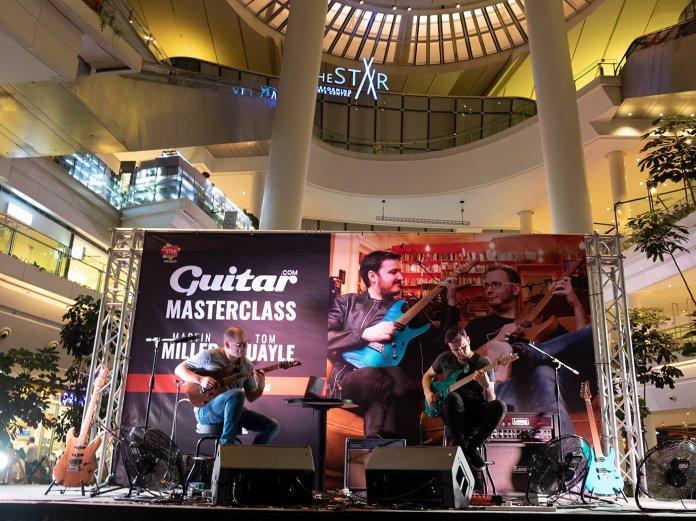 Guitar Masterclass Martin Miller and Tom Quayle hero