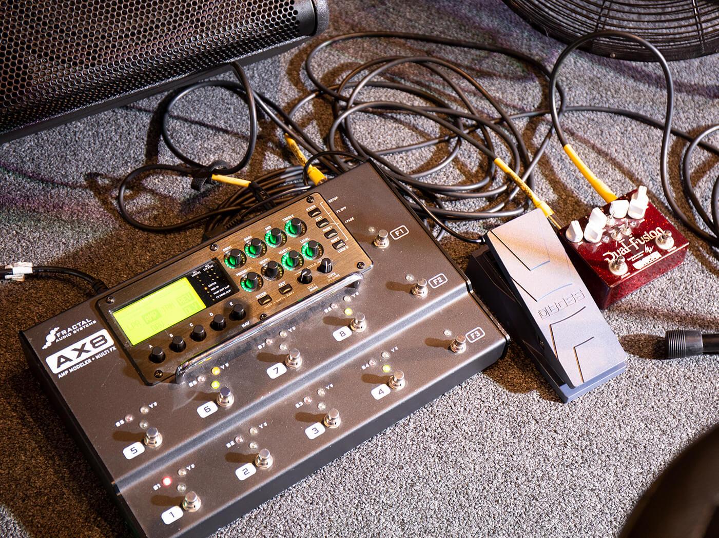 Guitar Masterclass Tom Quayle board