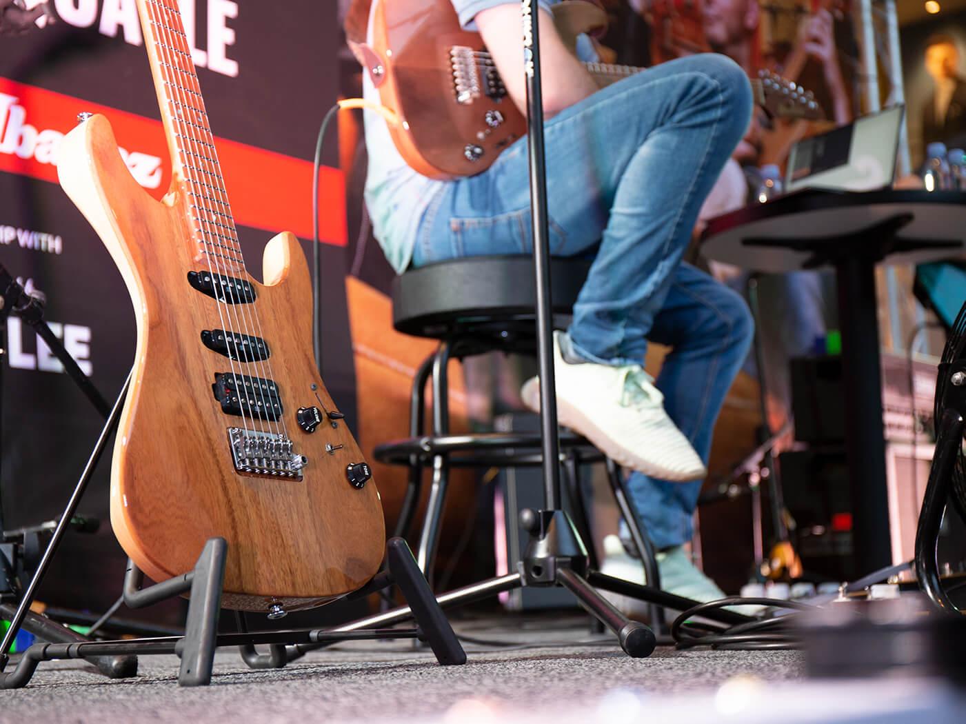 Guitar Masterclass Tom Quayle Ibanez signature TQM1 model