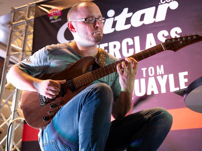 Guitar Masterclass Tom Quayle playing 3
