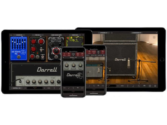 IK Multimedia Dimebad Darrel collection for iOS