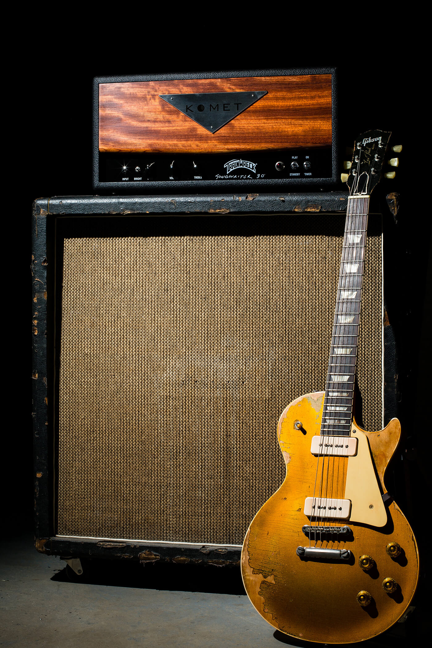 Interview Komet Amps with Gibson Les Paul