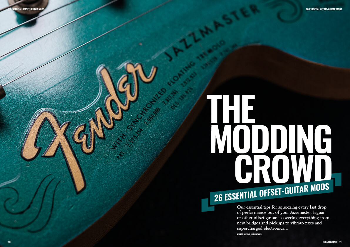jazzmaster fender 1966 modifications