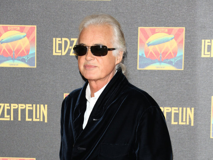 Jimmy Page Celebration Day DVD launch