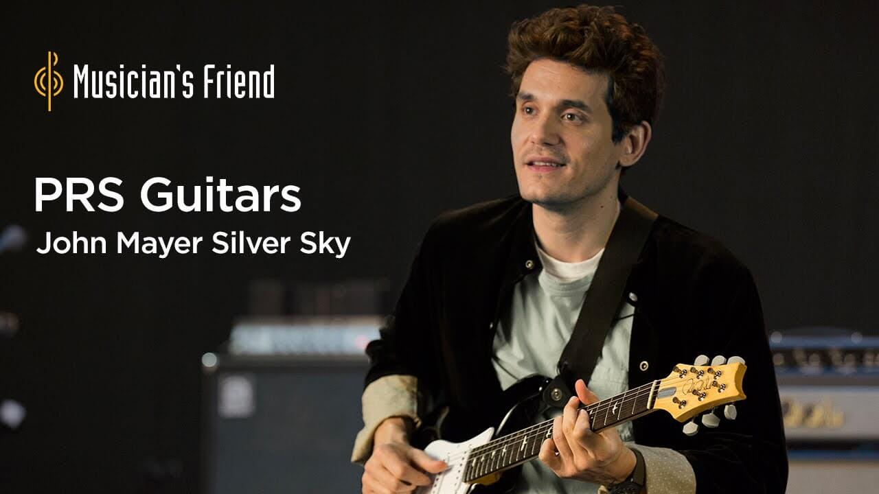 Watch John Mayer Demos His Signature Prs Silver Sky