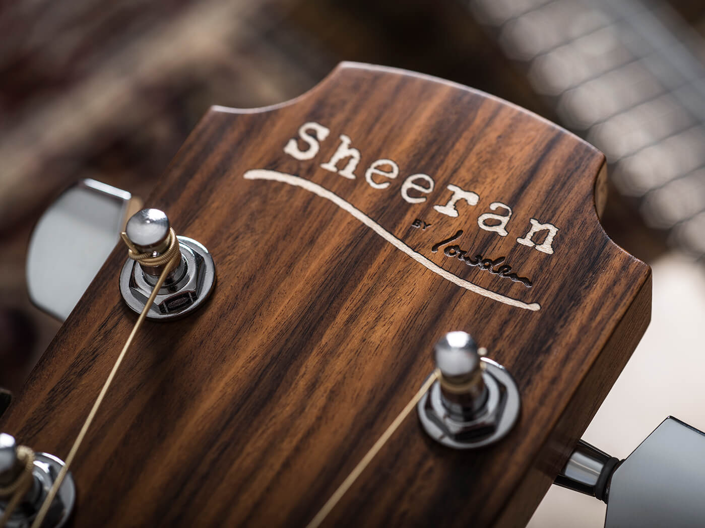 sheeran by lowden headstock