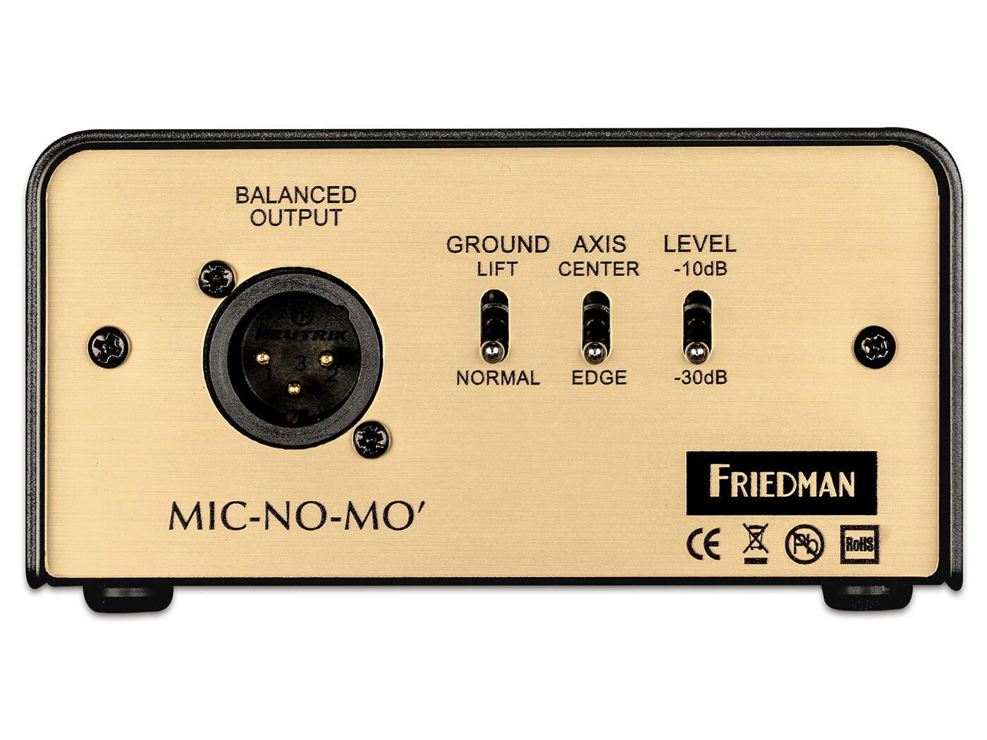 Friedman mic-no-mic rear