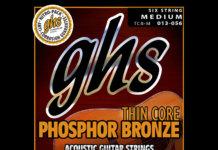 GHS Thin Core Phosphor Bronze acoustic strings