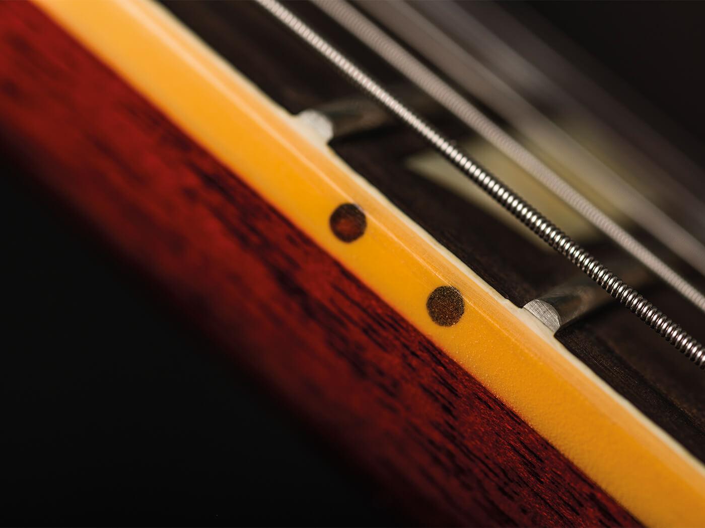 Gibson Custom 60th Anniversary 1959 Les Paul Standard fretboard markers