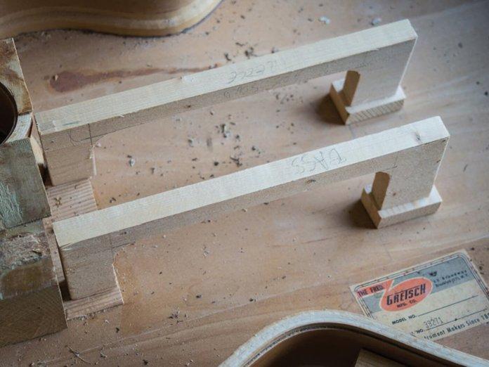 Gretsch DIY hub part five