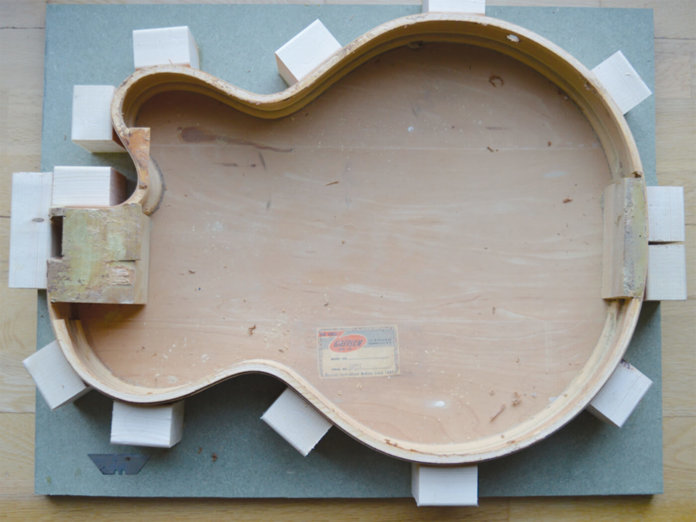 Gretsch DIY hub part two