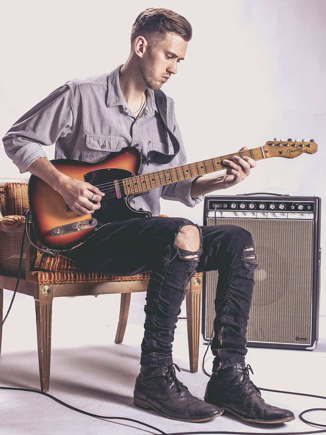 How YouTube guitar prodigy Myles Jasnowski found his musical voice