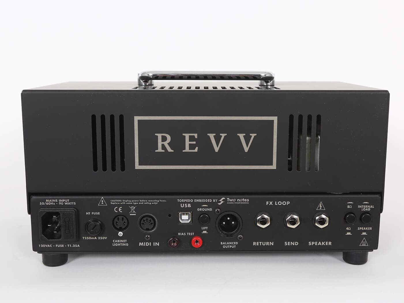 Revv D20 Rear