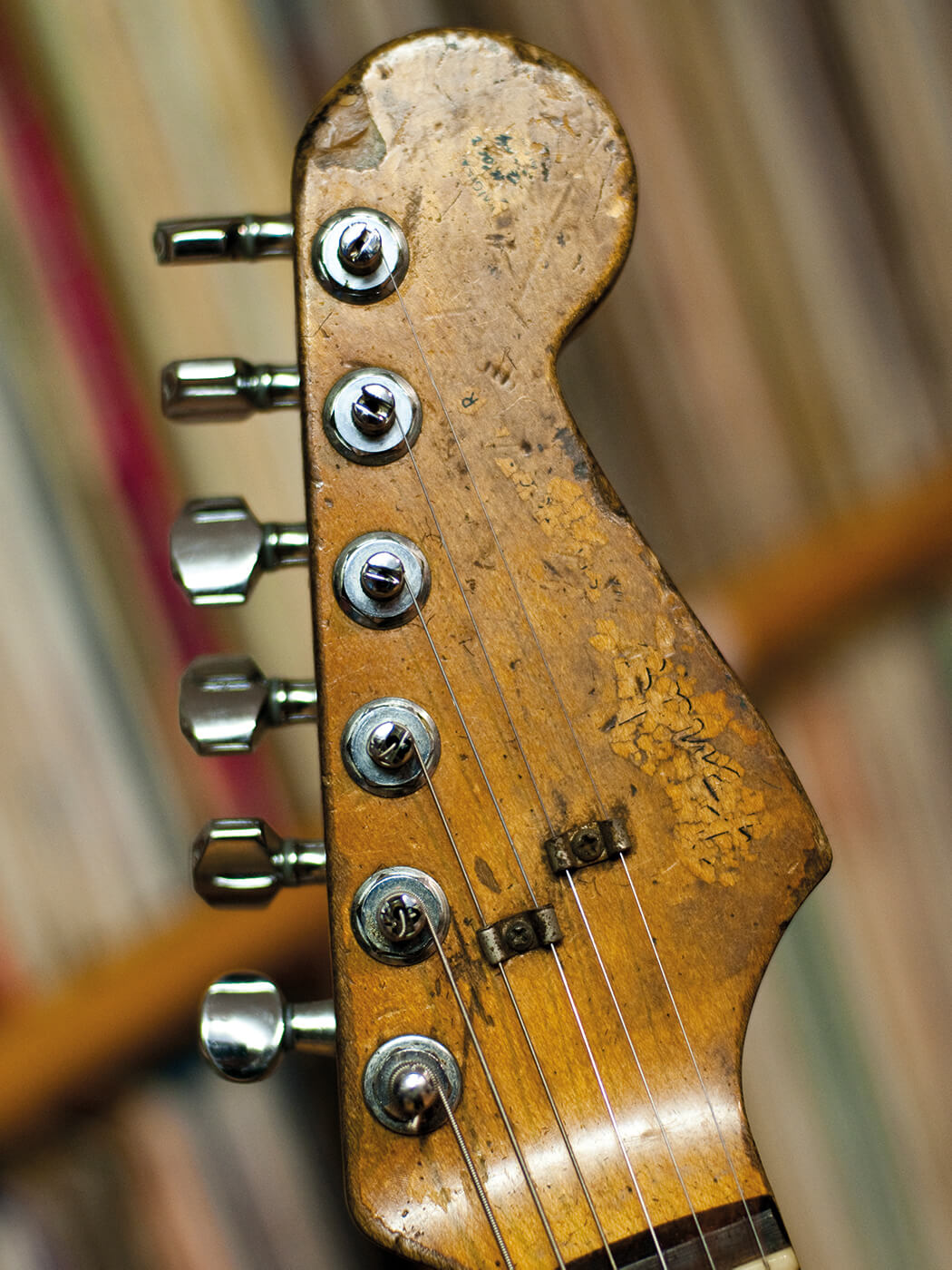 rare guitars rory gallagher 39 s 1961 fender stratocaster all things guitar. Black Bedroom Furniture Sets. Home Design Ideas
