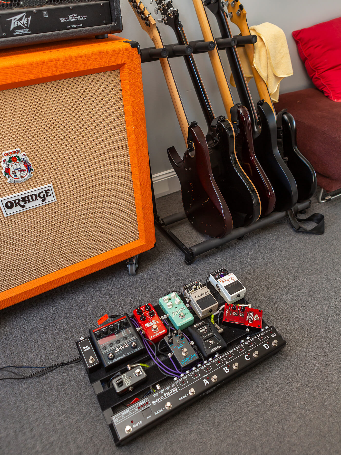 ben hosking pedalboard where the devil