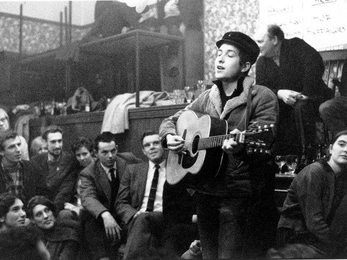 Bob Dylan Singers Club Christmas uk