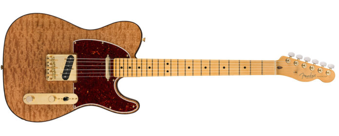 Fender Rarities Collection Red Mahogany Top Tele text