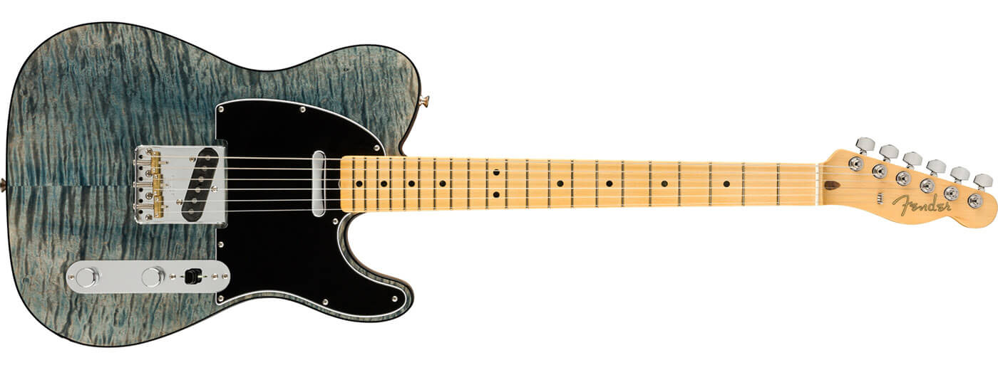 Fender Rarities Quilt Maple Top Tele