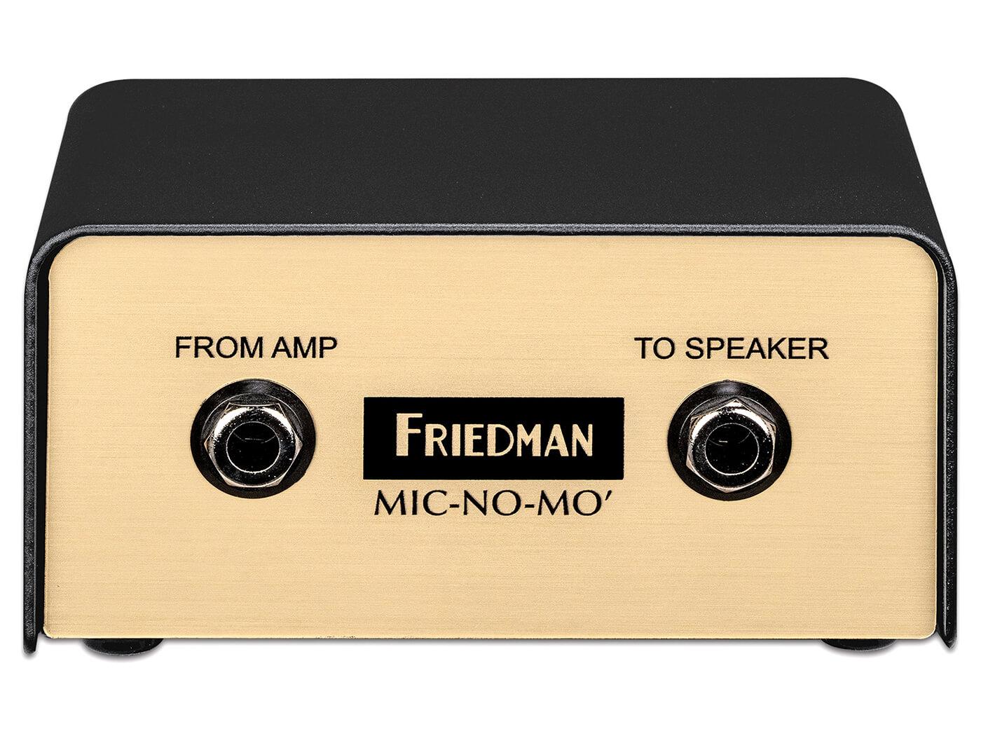Friedman mic-no-mic front
