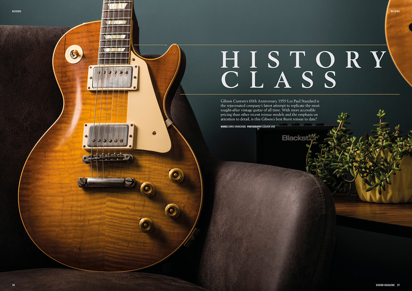 gibson custom 60th anniversary 1959 les paul standard review