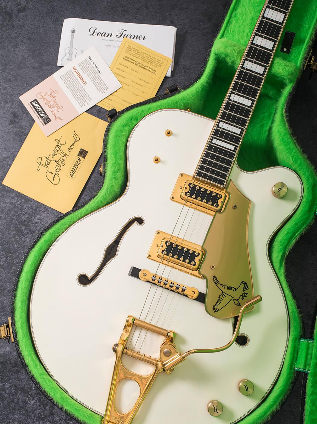 Vintage Bench Test: 1979 Gretsch White Falcon - Guitar com