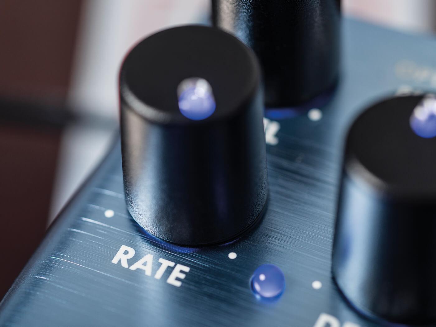 Review Fender Tre-verb controls